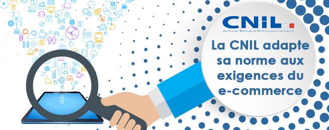 Compta-E-Commerce - La CNIL adapte sa norme de déclaration des fichiers clients aux exigences du e-commerce
